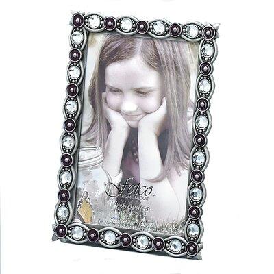 Fetco Home Decor Fashion Metals Distiah Rectangular Picture Frame