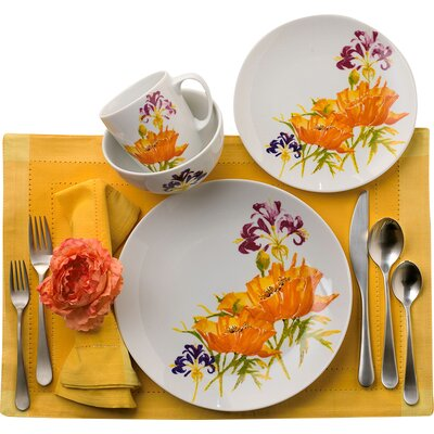 Tiger Lilly 16 Piece Dinnerware Set TGL-88398
