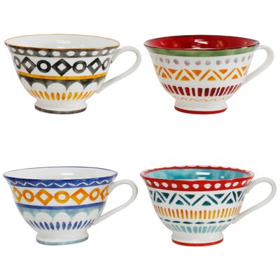 Amalfi 4 Piece Latte Cup Set Ama-86024