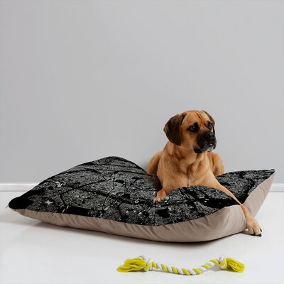 CityFabric Inc Paris Black Pet Bed