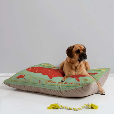 Anderson Design Group Explore America Pet Bed