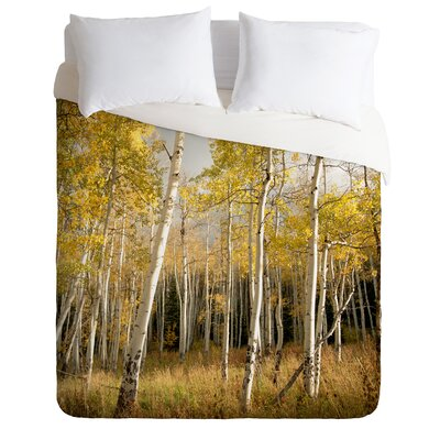 Bird Wanna Whistle Golden Aspen Duvet Cover Collection