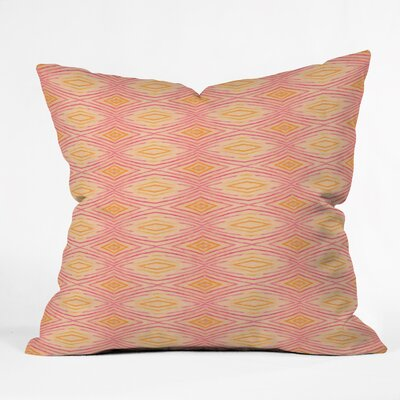 Cori Dantini Ikat 4 Throw Pillow Size: Medium