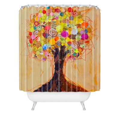 Elizabeth St Hilaire Nelson Summer Tree Extra Long Shower Curtain