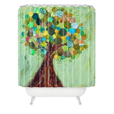 Elizabeth St Hilaire Nelson Spring Tree Extra Long Shower Curtain