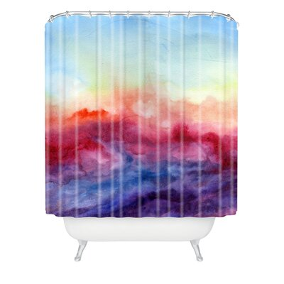 Jacqueline Maldonado Arpeggi Extra Long Shower Curtain