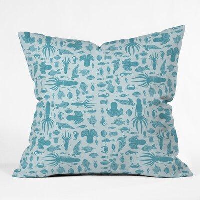 Jennifer Denty Sea Creatures Throw Pillow Size: 20 x 20