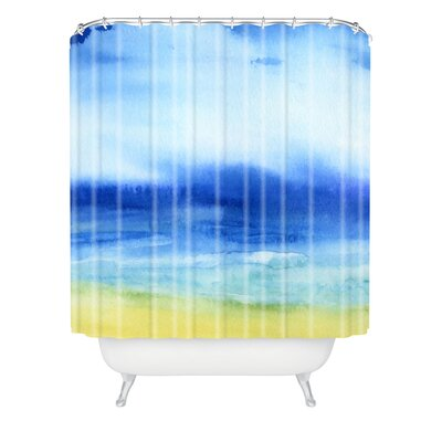 Jacqueline Maldonado Sea Church Extra Long Shower Curtain