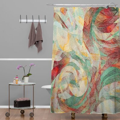 Jacqueline Maldonado Rapt Extra Long Shower Curtain