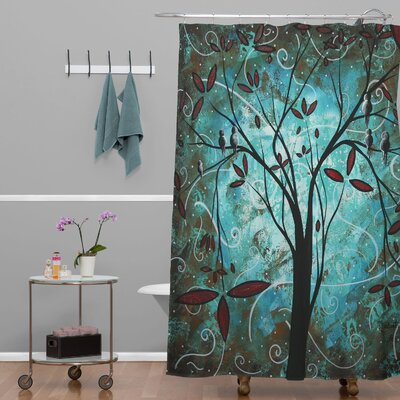 Madart Inc. Romantic Evening Extra Long Shower Curtain