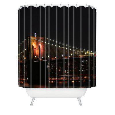 Leonidas Oxby Brooklyn Bridge 2 Extra Long Shower Curtain