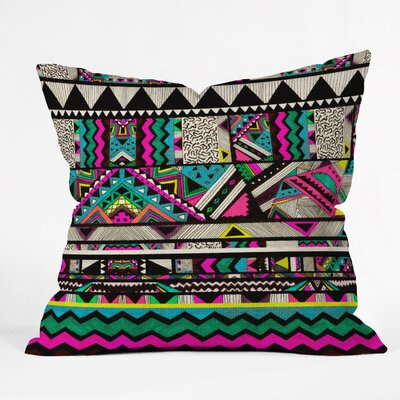 Kris Tate Throw Pillow Size: Large