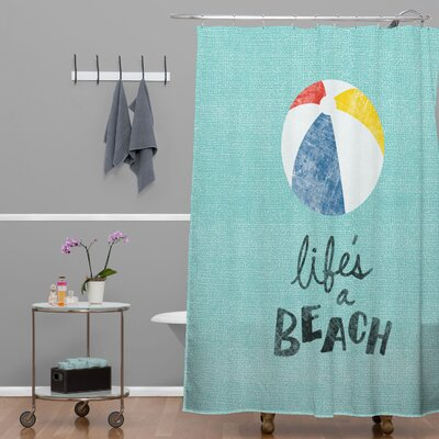 Nick Nelson Lifes A Beach Shower Curtain