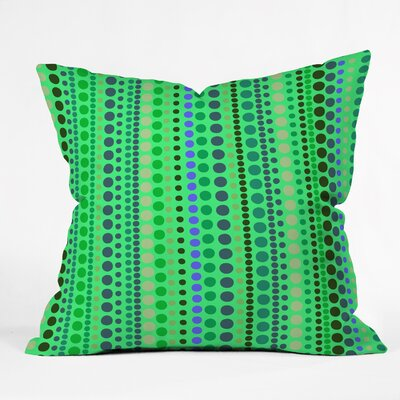 Romi Vega Retro Throw Pillow Size: 16 x 16