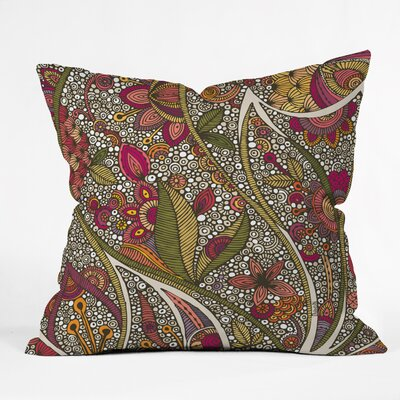 Valentina Ramos Kai Throw Pillow Size: 18 x 18