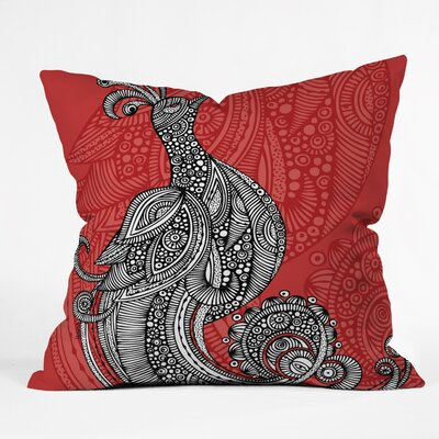 Valentina Ramos the Bird Throw Pillow Size: 16 x 16