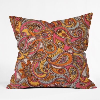 Valentina Ramos Spring Paisley Throw Pillow Size: 20 x 20