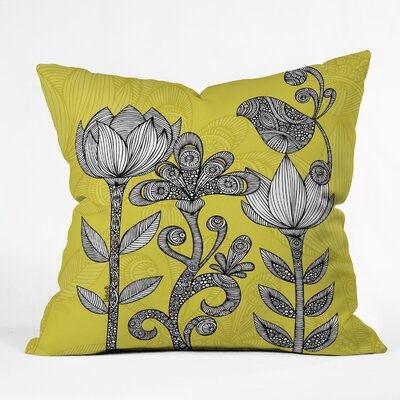 Valentina Ramos Garden Throw Pillow Size: 18 x 18