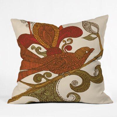 Valentina Ramos the Bird Throw Pillow Size: 18 x 18
