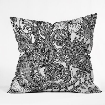 Valentina Ramos Bird Throw Pillow Size: 16
