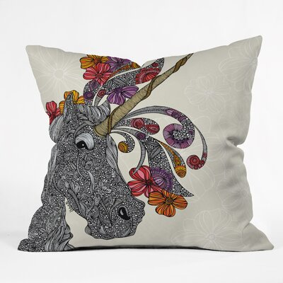 Valentina Ramos Unicornucopia Throw Pillow Size: 16 x 16