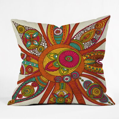Valentina Ramos Liora Throw Pillow Size: 16 x 16