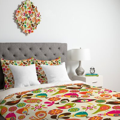 Valentina Ramos Duvet Set Size: Queen, Fabric: Lightweight