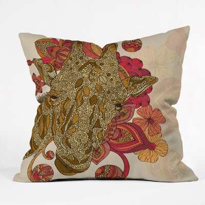 Valentina Ramos the Giraffe Throw Pillow Size: 18 x 18