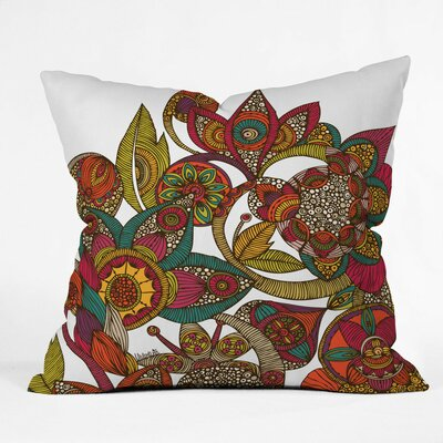 Valentina Ramos Garden Ava Throw Pillow Size: Medium