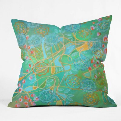 Stephanie Corfee Secret Garden Throw Pillow Size: Small