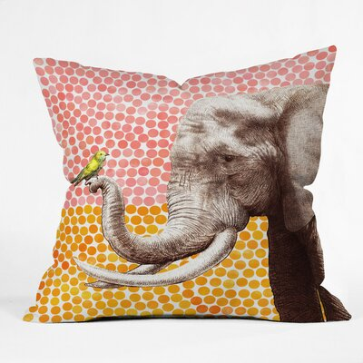 Garima Dhawan Dots Throw Pillow Size: Large