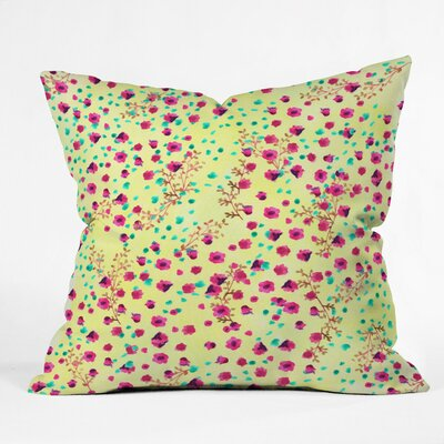 Joy Laforme Throw Pillow Size: Small