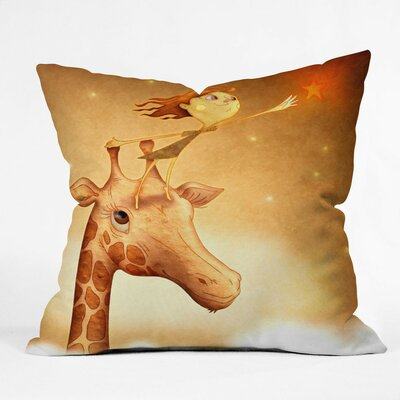 Jose Luis Guerrero Throw Pillow Size: Small
