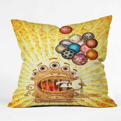 Jose Luis Guerrero Throw Pillow Size: Large