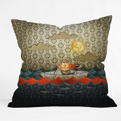 Jose Luis Guerrero Throw Pillow Size: Medium