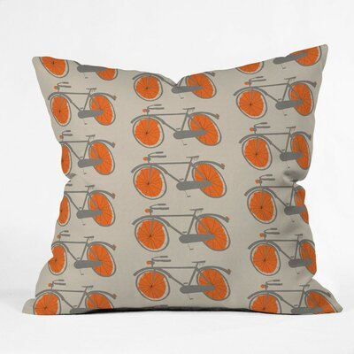 Mummysam Throw Pillow Size: Small