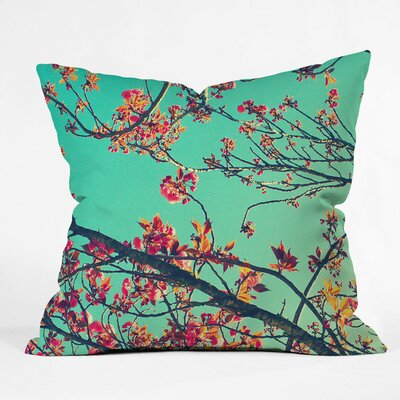 Shannon Clark Summer Bloom Throw Pillow Size: Small