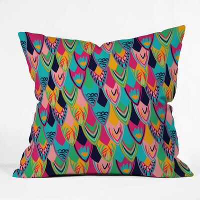 Vy La Love Birds 1 Throw Pillow Size: Large