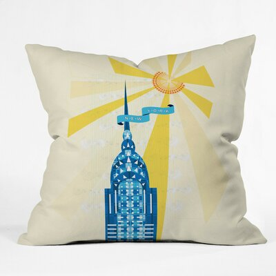 Jennifer Hill Throw Pillow Size: Large