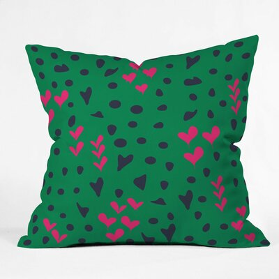 Vy La Animal Love Throw Pillow Size: Small
