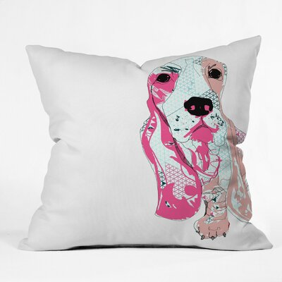 Casey Rogers Bassett Throw Pillow Size: Large