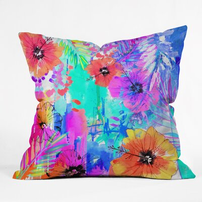 Holly Sharpe Hawaiian Heat Indoor/Outdoor Throw Pillow Size: Large