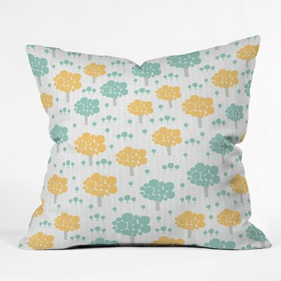 Gabriela Larios Arboreum Indoor/Outdoor Throw Pillow Size: Small