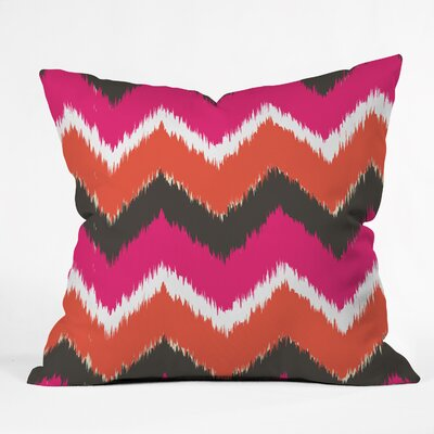 Andrea Victoria Indoor/Outdoor Throw Pillow Size: Small