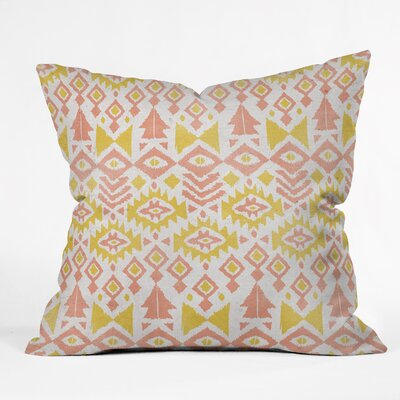Loni Harris Tribal Party Indoor/Outdoor Throw Pillow Size: Large