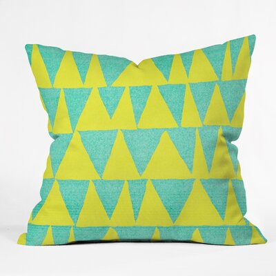 Nick Nelson Indoor/Outdoor Throw Pillow Size: Large