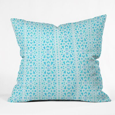Hadley Hutton Floral Tribe Indoor/Outdoor Throw Pillow Size: Small