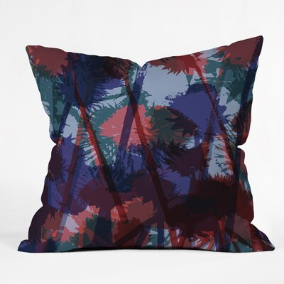 Sarah Bagshaw Thistles Throw Pillow Size: Large