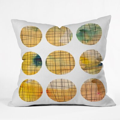 Susanne Kasielke Squared Circle Throw Pillow Size: Medium