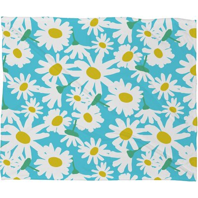 Zoe Wodarz Daisy Do Right Fleece Throw Blanket Size: Medium